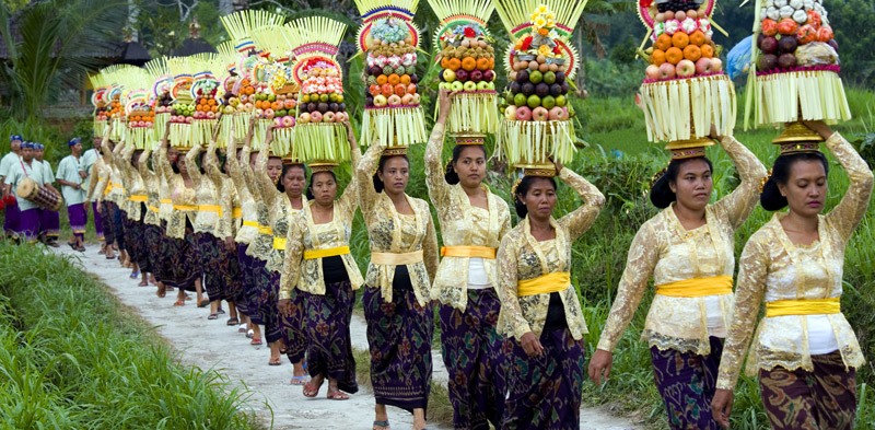 galungan procession