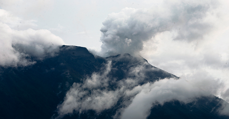 Mount Agung Eruption Update Latest News Volcanic Eruption Mount Agung