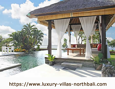 Luxury holiday villas in North Bali